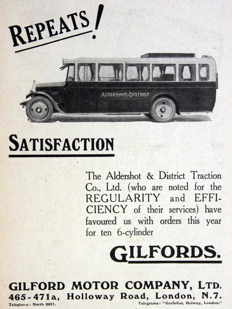 1928 Gilford Motor Co