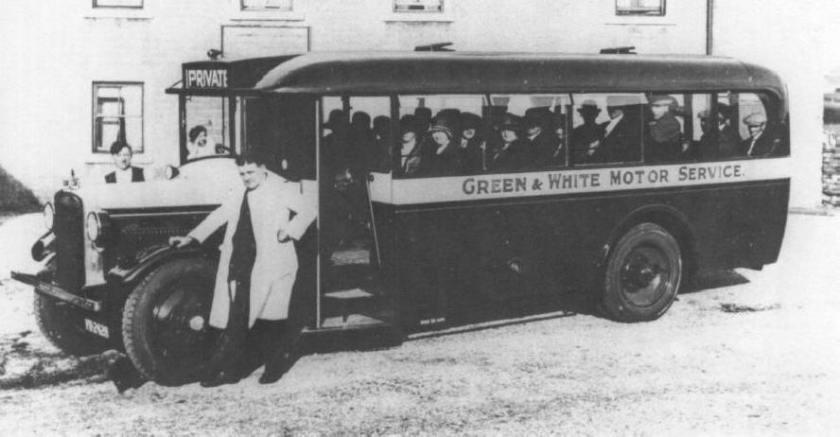1929-1938 Gilford CP6 C26F seats