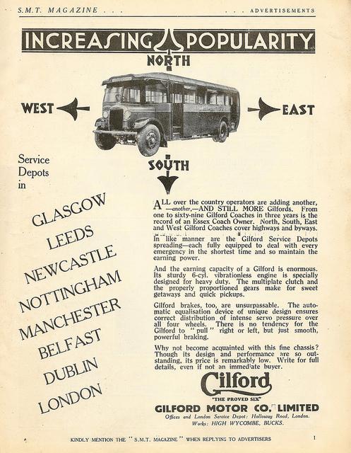 1929 Gilford Ad
