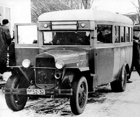 1930-1950 GAZ-03-30