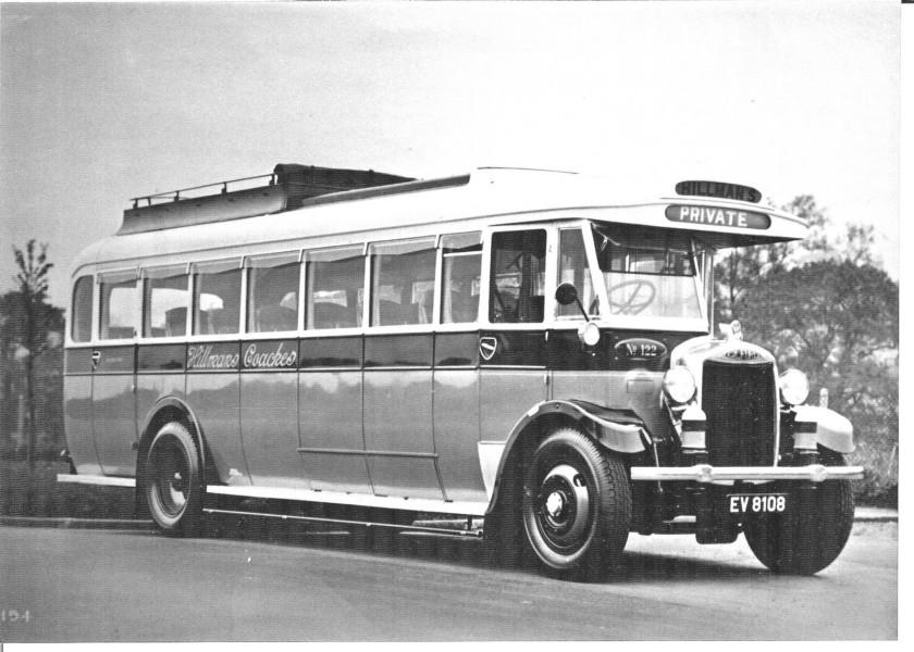 1934 Gilford EV8108, Hillman's Coaches 168OT
