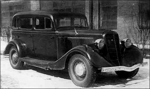1936 Gaz m-1