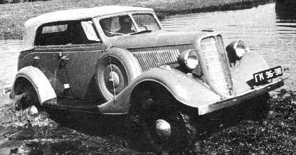 1940 GAZ-61-40 m1161