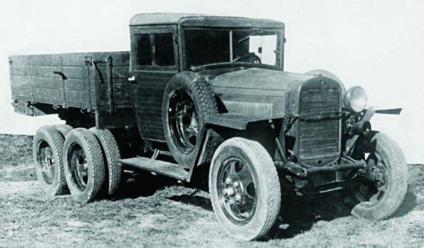 1941 GAZ-ААА, 6x6