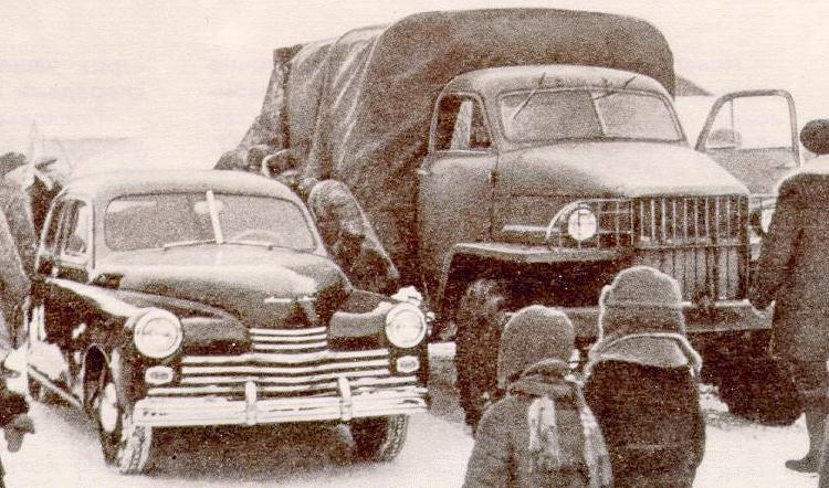 1945 gaz 20 + gaz 63 1945