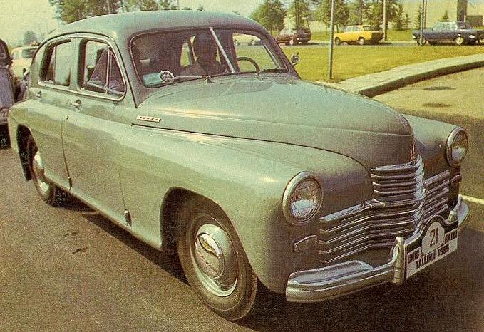 1946 GAZ m20