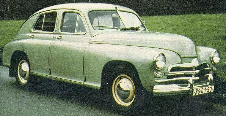 1946 GAZ m20vsmf