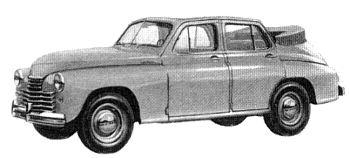 1948 gaz m20 kabrio