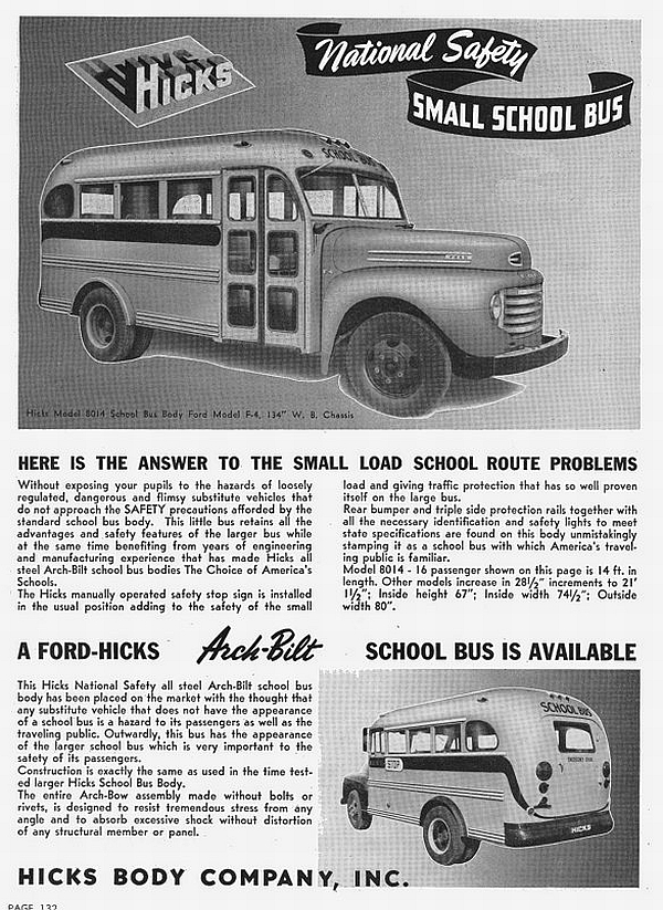 1950 Ford School bus ish