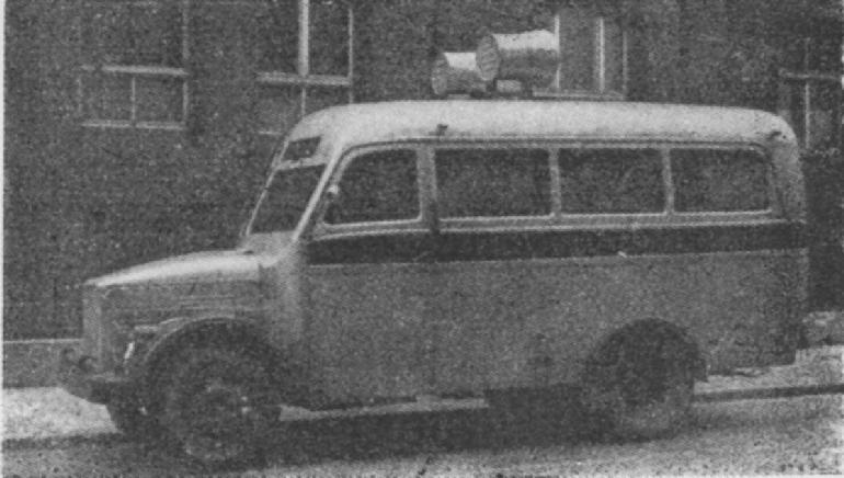1951 Gaz avtobus