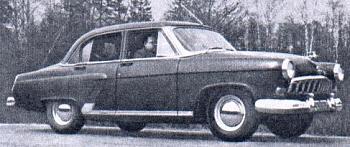 1955 gaz 21 prototyp