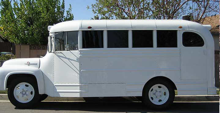 1955 Gillig Short Bus On Ford B500 Chassis