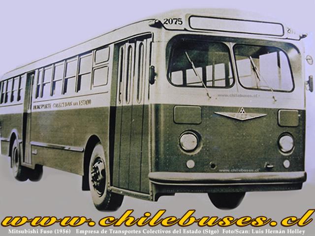 1956 MitsubishiFuso1956EmpresadeTransportesColectivosdelEstadoStgo