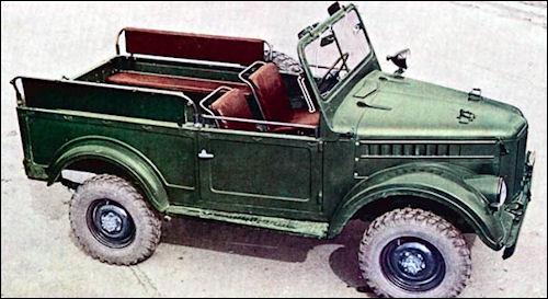 1957 gaz 69 open