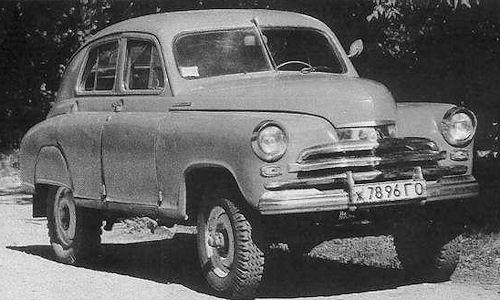 1957 gaz m72