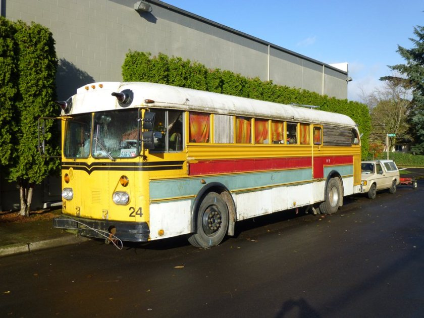 1957 Gillig Transit Coach School Bus