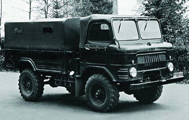 1959 GAZ-62, 4x4