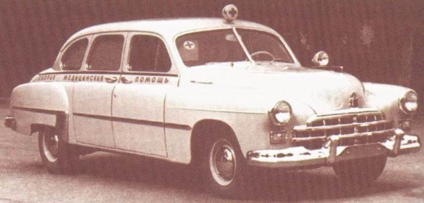 1960 ambulance gaz 12bnn
