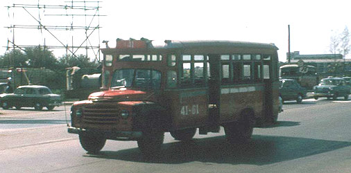 1961 Ford Thai Bangkok Bus 41-61 Ford