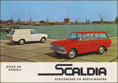1961 Scaldia Sterk en Stabiel