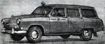 1962 Ambulance gaz m22 sanitarka
