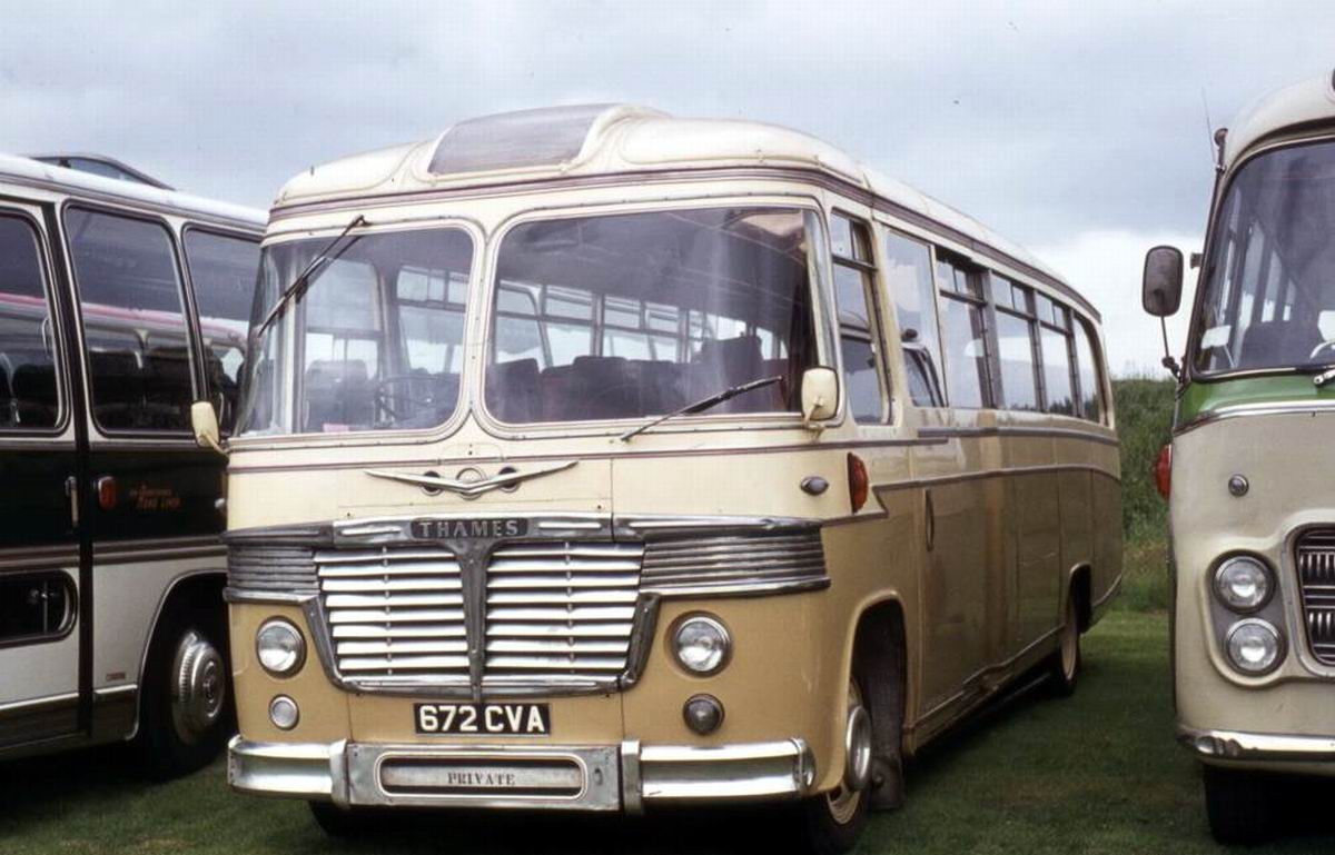 1962 Ford Thames Trader 570E with Burlingham Seagull 62 C41F bodywork