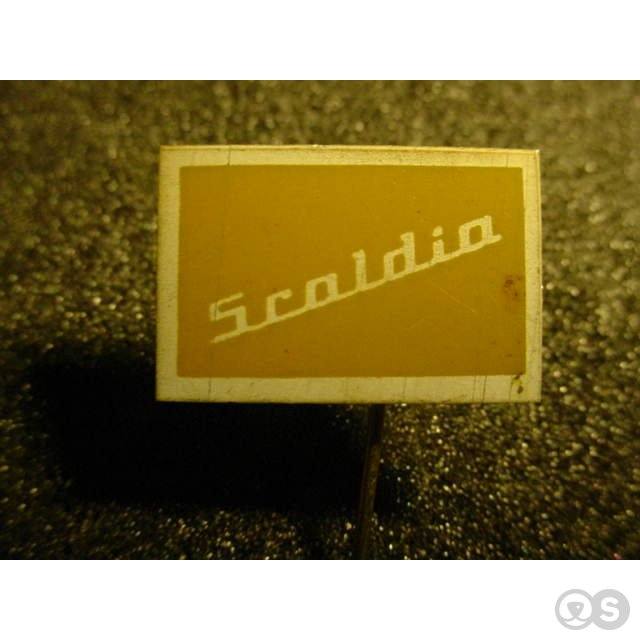 1962 Scaldia pin