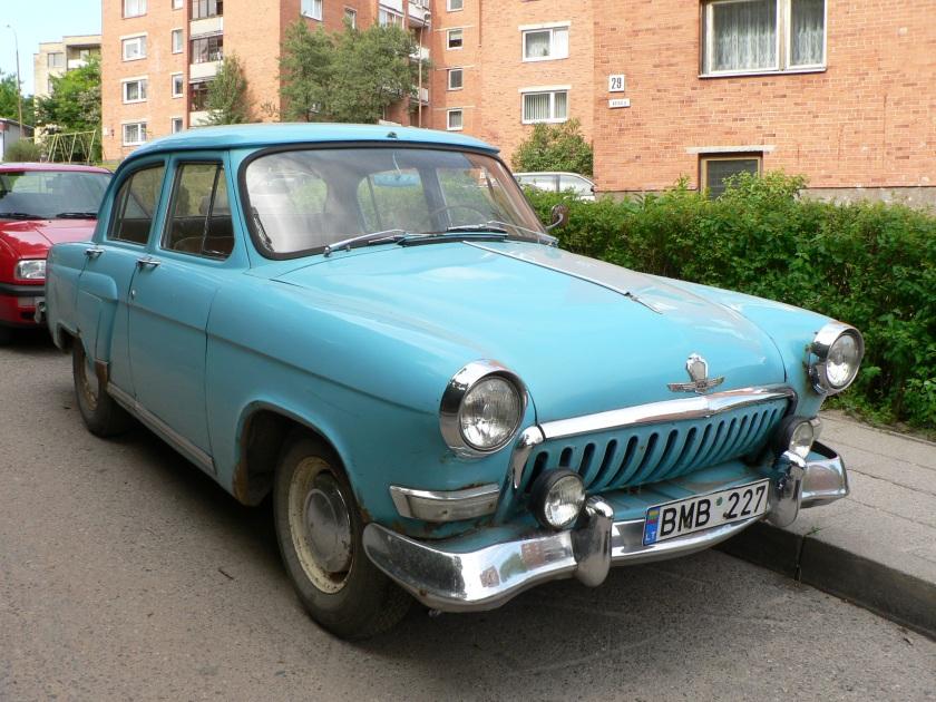 1962 Volga GAZ- M 21