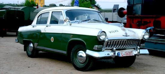 1962 Volga M21 kam die Volkspolizei nach Werdau