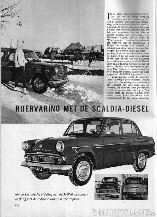 1963 Scaldia Diesel MG-34-17