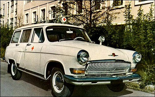 1964 Ambulance gaz 1964 J3003
