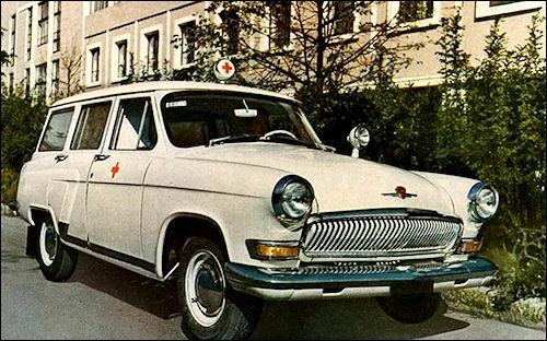 1964 Ambulance gaz 1964 J3003