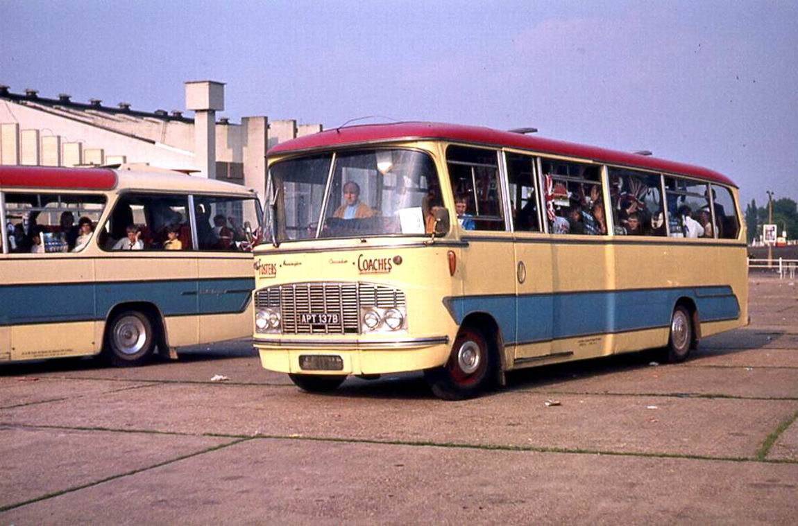 1964 Ford Thames 570E Harrington Crusader IV C41F bodied