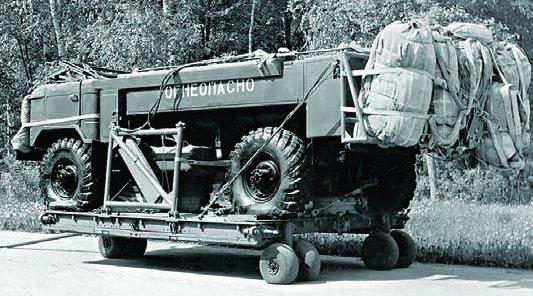 1965 GAZ-66B, 4x4, Airborne