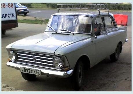 1970 Moskovich a