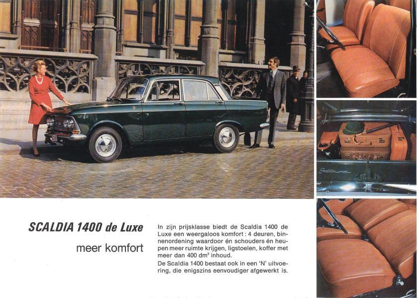 1970 Scaldia 1400 De luxe Rusland 1970