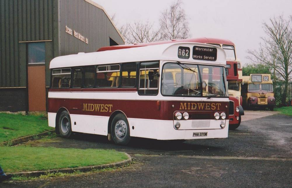 1972 Ford R192 with Plaxton Derwent 23 seat coach body