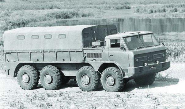 1972 GAZ-44, 8x8