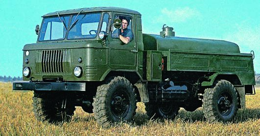 1973 GAZ-66-04 chassis, 4x4, MZ 66 Oil Bowser
