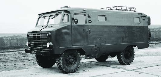 1973 GAZ-66 chassis with KPP-66 body designed in NIII №21