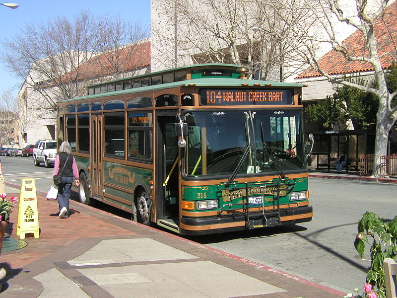 1984 Walnut Creek Gillig Trolley