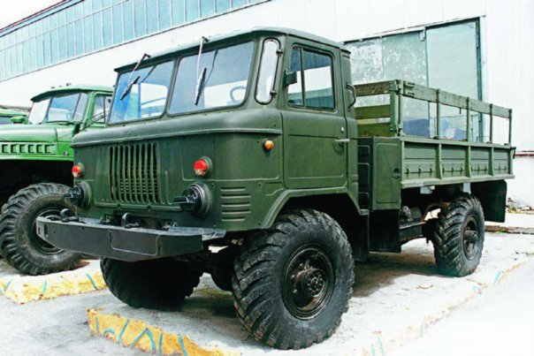 1985 GAZ-66-11, 4x4
