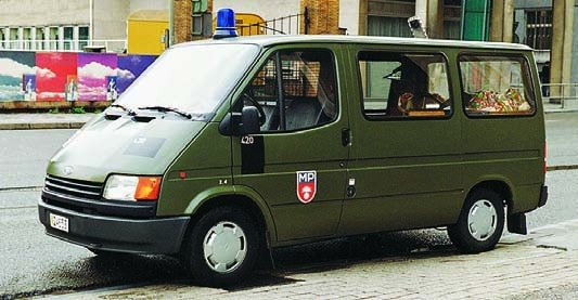 1987 Ford Transit-IV, Military police