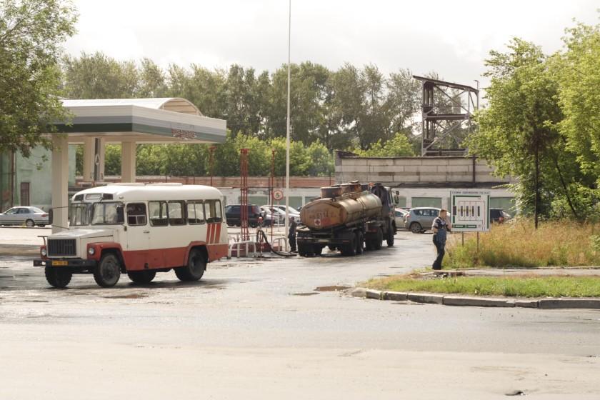 1990 GAZ bus in Yekaterinburg