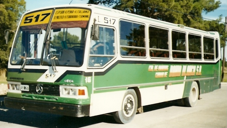 1994 MERCEDES-BENZ OHL 1316 46 automatico Galicia