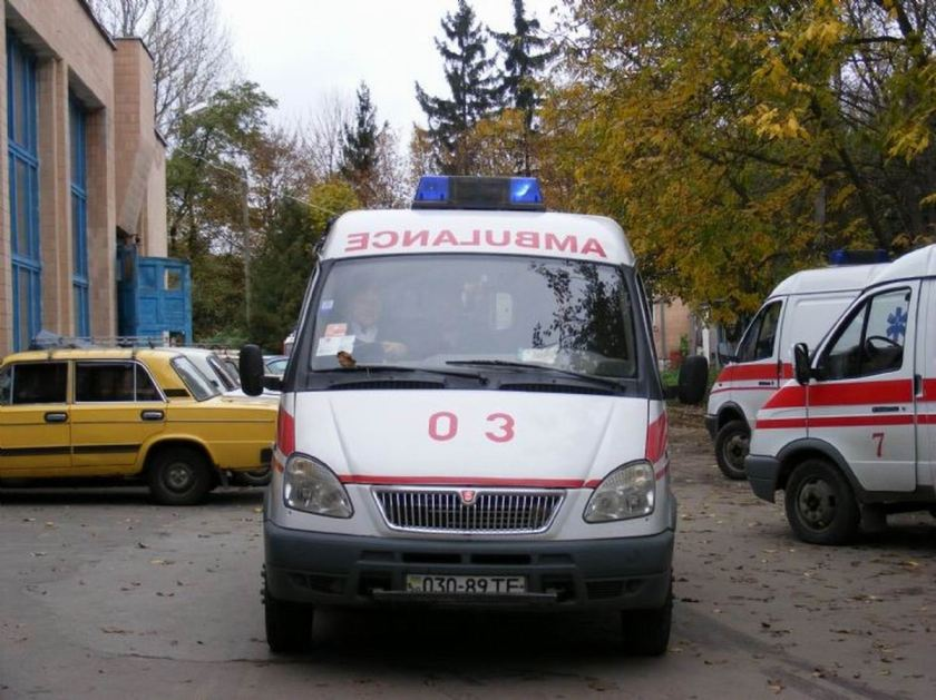 1997 Ambulance GAZ Rus