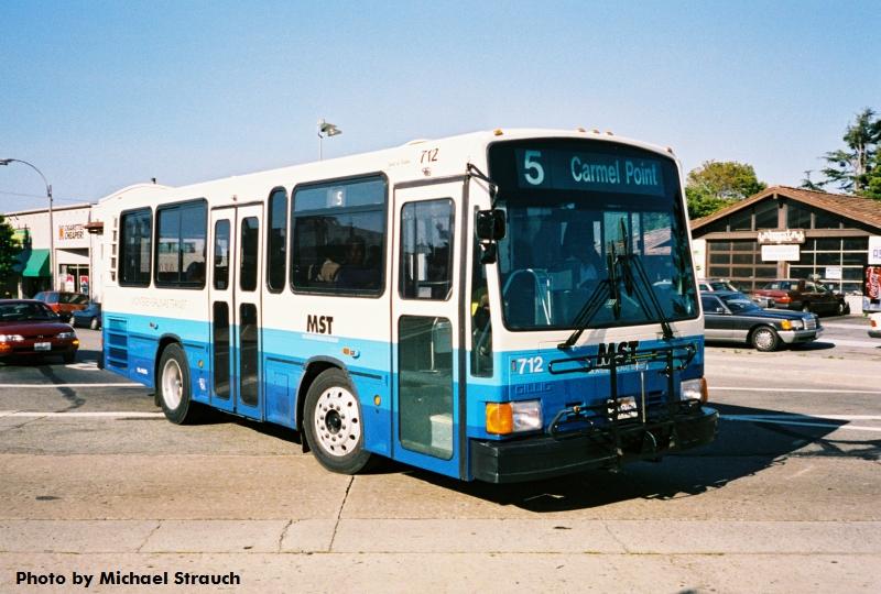 1997 mst gillig712 route