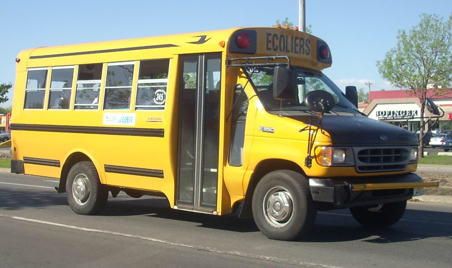 2000-2002 Ford E-350 School Bus