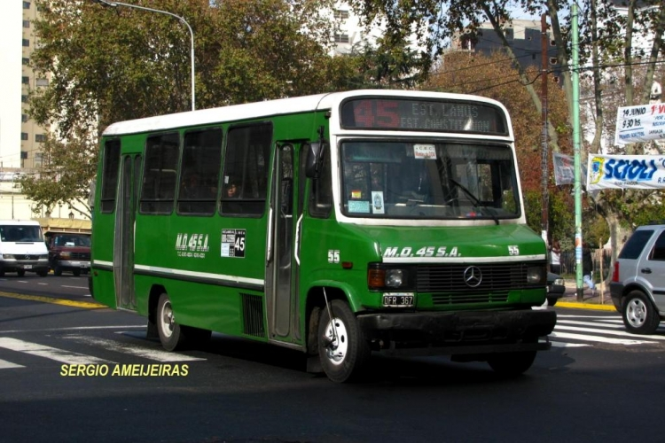 2000 Mercedes-Benz LO 814 - Galicia - M.O. 45