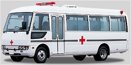 2001 Ambulance Mitsub Fuso